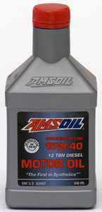 SAE 15W-40 Synthetic Blend Diesel Oil